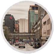 Glasgow Renfield Street Round Beach Towel