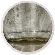 Glass On Glass Round Beach Towel