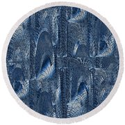 Glass Palace Round Beach Towel