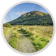 Glen Lyon Round Beach Towel