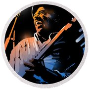 Glen Terry Round Beach Towel