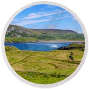 Glencolmcille County Donegal Round Beach Towel