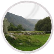 Glendalough Round Beach Towel