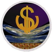 Globalworld Round Beach Towel