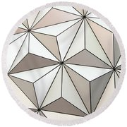 Globe Round Beach Towel