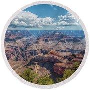 Glorious Grand Canyon Round Beach Towel