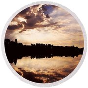 Glorious Moments Round Beach Towel