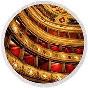 Glorious Old Theatre Round Beach Towel