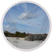 Glory Beach Round Beach Towel