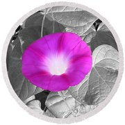 Glory Pink Round Beach Towel