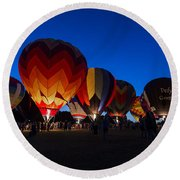 Glow 2015 Round Beach Towel