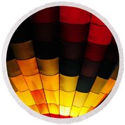 Glowing II Round Beach Towel