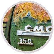 Gmc 350 Tag Round Beach Towel