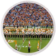 Go Vols Round Beach Towel