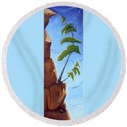Goals Round Beach Towel