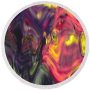 Trickster Goblins Of Our Minds Round Beach Towel