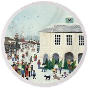Godalming    Surrey Round Beach Towel
