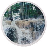 Gold Rock Round Beach Towel