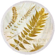 Golda I Round Beach Towel