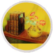 Golden Books Round Beach Towel