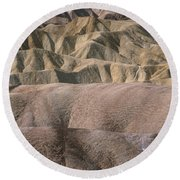 Golden Canyon - Death Valley National Park Round Beach Towel