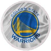 Golden State Warriors Round Beach Towel