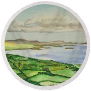 Goleen Vista Round Beach Towel
