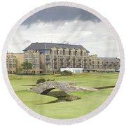 Golf Hotel, St Andrews Round Beach Towel