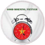 Good Morning, Vietnam - Alternative Movie Poster Round Beach Towel
