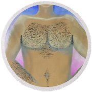 Good Parts Round Beach Towel