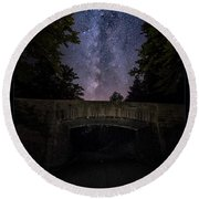 Goodnight Acadia Round Beach Towel