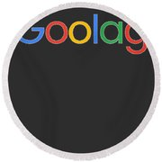Goolag Round Beach Towel