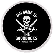 Goondocks Round Beach Towel