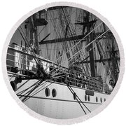 Gorch Fock ... Round Beach Towel