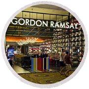 Gordon Ramsay Round Beach Towel