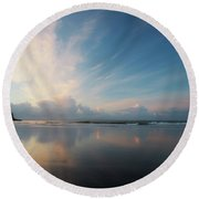Graceful Disappointment Round Beach Towel