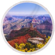 Grand Arizona Round Beach Towel