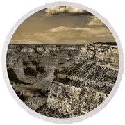 Grand Canyon - Anselized Round Beach Towel