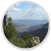 Grand Canyon 1 Round Beach Towel