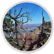 Grand Canyon 13 Round Beach Towel