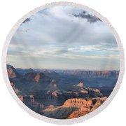 Grand Canyon 4 Round Beach Towel