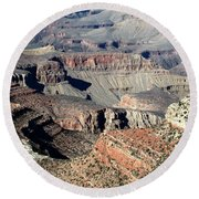 Grand Canyon Greatness Round Beach Towel