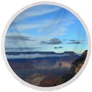 Grand Canyon Moonrise Round Beach Towel