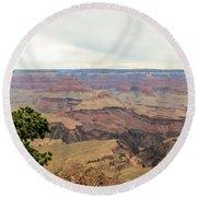 Grand Canyon No 2 Round Beach Towel