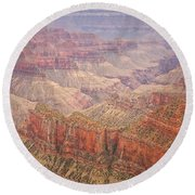 Grand Canyon North Rim Round Beach Towel