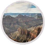 Grand Canyon North Rim Round Beach Towel
