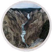 Grand Canyon Photo Round Beach Towel
