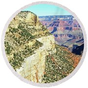 Grand Canyon10 Round Beach Towel