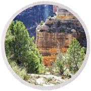 Grand Canyon12 Round Beach Towel