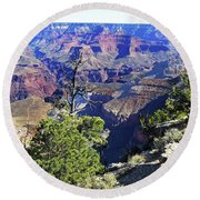 Grand Canyon14 Round Beach Towel